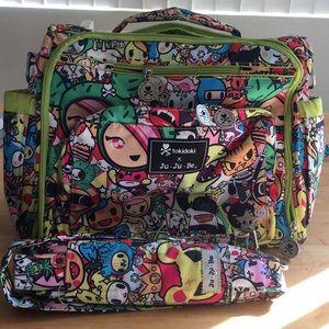"JuJuBe Tokidoki ""Iconic"" BFF diaper bag"